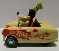 DISNEY'S-MICKEY AND THE ROADSTER RACERS-GOOFY'S COUPE DE GOOF DIE CAST used