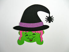 Witch Peeker Halloween Theme Cardstock Die cut paper piecing cards/scrapbooks