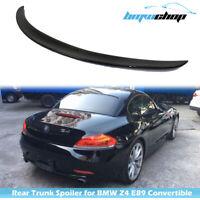 Carbon Fiber Fit For BMW Z4 E89 Convertible 09-16 D Style Rear Trunk Spoiler