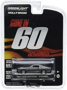 Greenlight 1:64 Hollywood Series Gone In 60 Seconds 1967 Eleanor Mustang