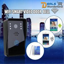 New WiFi Wireless Video Door Phone  Intercom  IR Night Vision Home Security