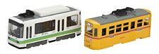 NEW Bandai B Train Shorty Tram 11 Tokyo 8500 & 8000 form Red Band 2 Cars Set F/S
