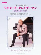 Richard Clayderman Best Selection Easy Piano Solo Sheet Music Book