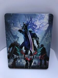 DMC Devil May Cry 5 Custom-Made Steelbook Case PS4/XBOX (NO GAME)