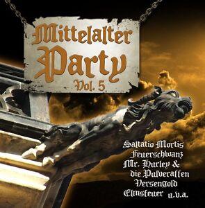 MITTELALTER PARTY VOL.5 V CD 2013 Saltatio Mortis FAUN Tanzwut
