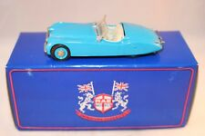 Gems and Cobwebs Jaguar XK120 very scarce rare colour blue MIB in a RAE box