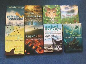 Michael Morpurgo 8 paperback books. New. Popular titles.