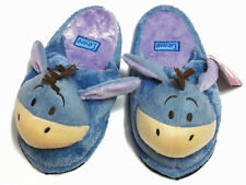 Eeyore Blue Slippers #D Winnie Pooh US 6-10, UK 4-8, EU 36-42 One size fits most