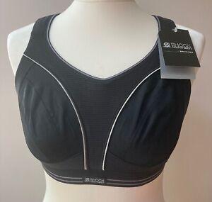 Shock Absorber Sports Bra in Black Size 34D Style S5044 BNWT