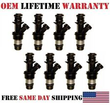 8x refurbished OEM Delphi fuel injectors for 2001-2006 GMC Sierra 2500 HD 6.0LV8