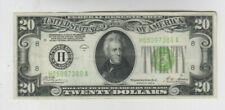 Federal Reserve Note $20 1928-B Redeemable in gold vf