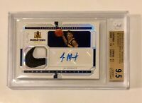 2019-20 National Treasures Collegiate Ja Morant RPA RC Patch Auto 1/1 BGS 9.5 🔥