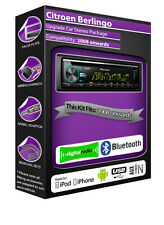 Citroen Berlingo DAB radio, Pioneer stereo CD USB AUX player, Bluetooth Package