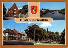 Genthin Saxony-Anhalt GDR more image-AK ungelaufen etc. plauer channel, Hall etc.