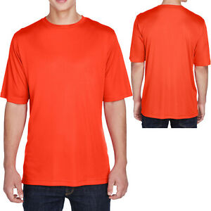 Team 365 Mens Moisture Wicking T-Shirt UV Protection Dri Fit Gym Workout XS-4XL