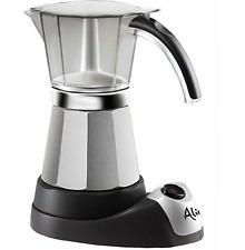 Electric Coffee Maker Expresso Machine Italian Moka Espresso DeLonghi 3 to 6 Cup