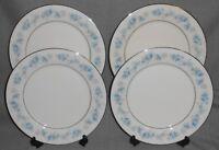 Set (4) Noritake Ivory China SPLENDOR PATTERN Dinner Plates MADE IN JAPAN