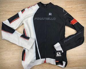 Giordana Pinrello Long Sleeve Jersey Mens Size XXL Black/Red/White