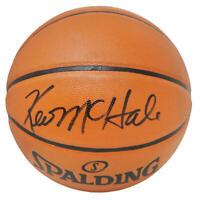 Kevin McHale (Celtics) Signed Spalding Game Series Rep Basketball (SCHWARTZ COA)