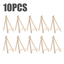 10PCS Mini Wood Display Stand Painting Easel Plate Holder Picture Photo Arts
