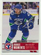 2019-20 Upper Deck Hockey Day in Canada CAN-16 Quinn Hughes Vancouver Canucks