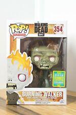 Funko Pop Vinyl The Walking Dead - No 354 Burning Walker SC 2016
