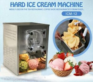 Commercial Mini Tabletop Hard ice Cream Machine,countertop ice cream machine