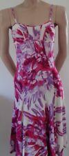 Day Dress with Straps Just Cavalli Kleid Jersey Print Bustier Pink Gr. 36