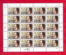 RAOUL WALLENBERG Sheet of 20 Stamps (Scott's # 3135 ) From 1997