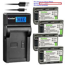 Kastar Battery LCD USB Charger for Sony NP-FP50 NP-FP51 Sony DCR-HC85 DCR-HC94