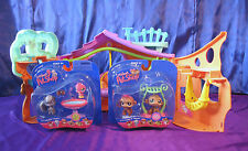 Littlest Pet Shop Clubhouse 2007 Comes with New Pets Monkey Squirrel  LPS