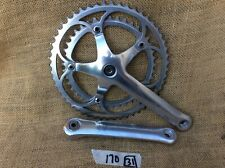 Campagnolo Corsa C Record engraved shield chainset, crankset, 170mm