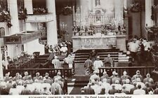 EUCHARISTIC CONGRESS DUBLIN 1932 PAPAL LEGATE AT PRO CATHEDRAL IRELAND POSTCARD