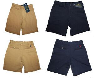 Ralph Lauren Kids Boys Soft Cotton French Terry Knee Length Summer Shorts 2-16