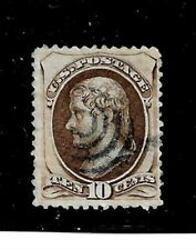 US Stamp- Scott # 209b/A49b-10c-Target Cancel/VLH-1882-NG