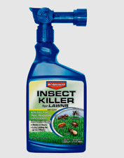 New! BioAdvanced INSECT KILLER For LAWNS Fast-Acting Hose Sprayer 32 oz. 708280D