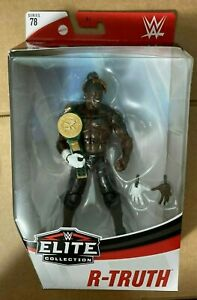 WWE R-Truth - WWE Elite Series 78 Action Figure with 24/7 Championship belt