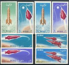 Dubai 1964 ** Mi.71/78 B Weltraum Raumfahrt Space