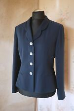 Women's designer Albert Nipon blue jacket blazer L US 12 UK 14/16 formal classy