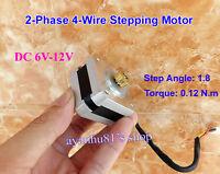 DC 6V-12V 2-Phase 4-Wire 42mm Stepping Motor 1.8° Stepper Motor For 3D printer