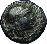 LYSIMACHOS 306BC Thrace King Authentic Ancient Greek Coin ATHENA & LION i68679