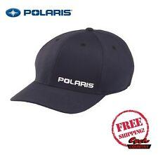 POLARIS CORE HAT CAP BASEBALL RZR RMK SPORTSMAN ACE NAVY ADULT FLEXFIT 110 SNAP