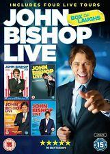 John Bishop: Live - Box of Laughs [New & Sealed] Boxset