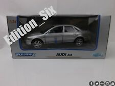 Welly 1:24 2001 AUDI A4 B6 Silver german saloon model car diecast metal New