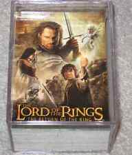 Lord of the Rings Return of the King Update 91-162 Set Near Mint!