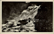 Merok Norway Norge AK ~ 1920/30 Waterfall Foss Landscape Landskap Waterfall