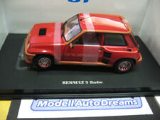 Renault 5 turbo 1 MKI 1978 red rojo 1/1000 uh Eagles Race 1:18