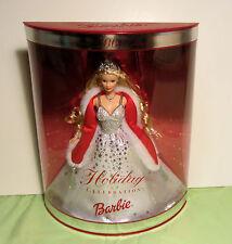 MIB Barbie Holiday Celebration 2001 Special Edition Christmas Doll