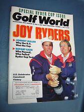 October 1, 1993 old vintage Golf World magazine