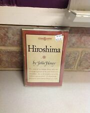 Hiroshima first edition Vg W Jacket First Edition Scarce.